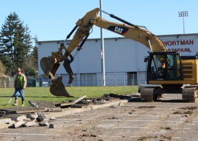 McMinnville High School Under Construction