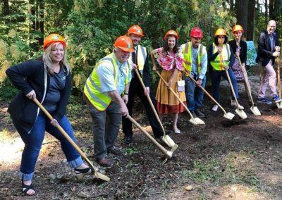 Groundbreaking for Leach Botanical Upper Garden