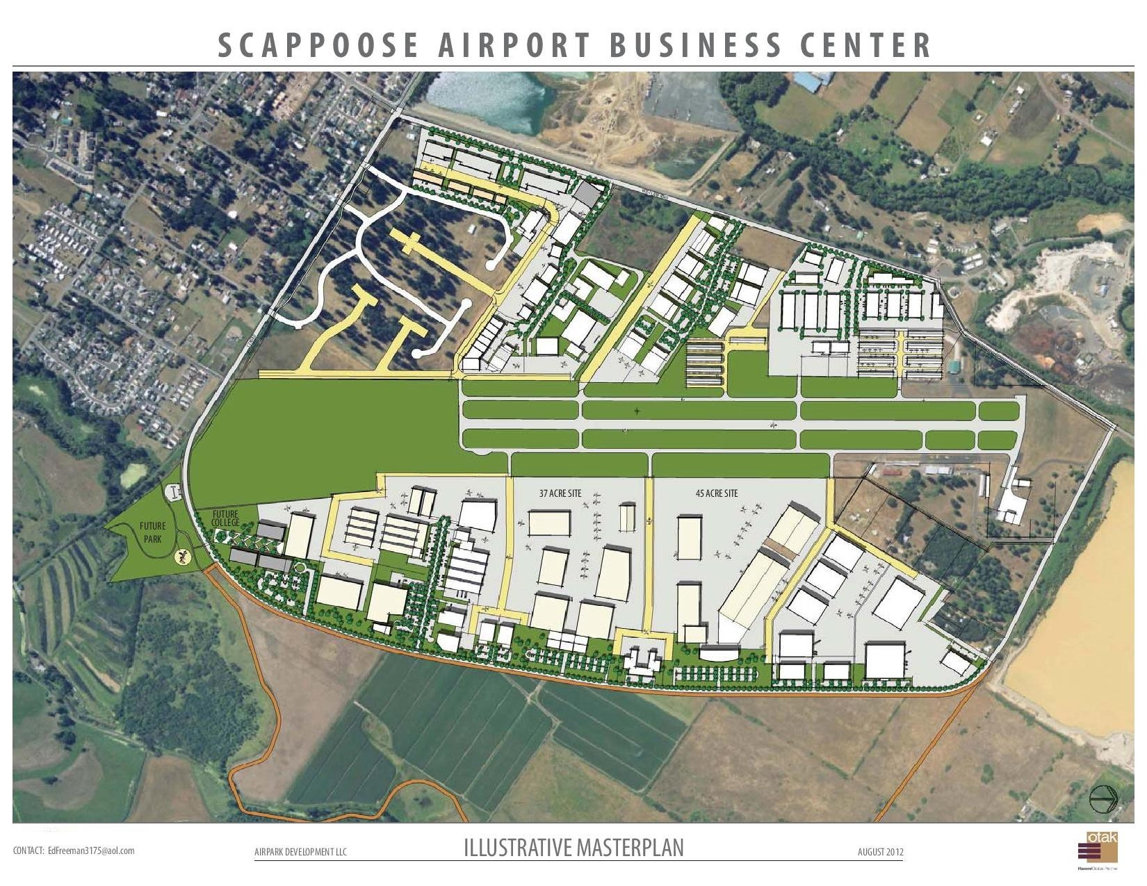 Scappoose Airport Business Center Airpark Master Plan