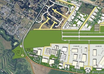 Scappoose Airpark Under Construction