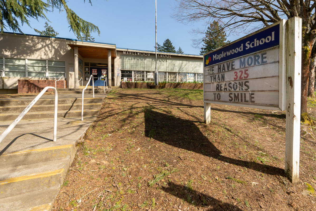 Maplewood Elementary, Portland Public Schools, Winterbrook Planning project