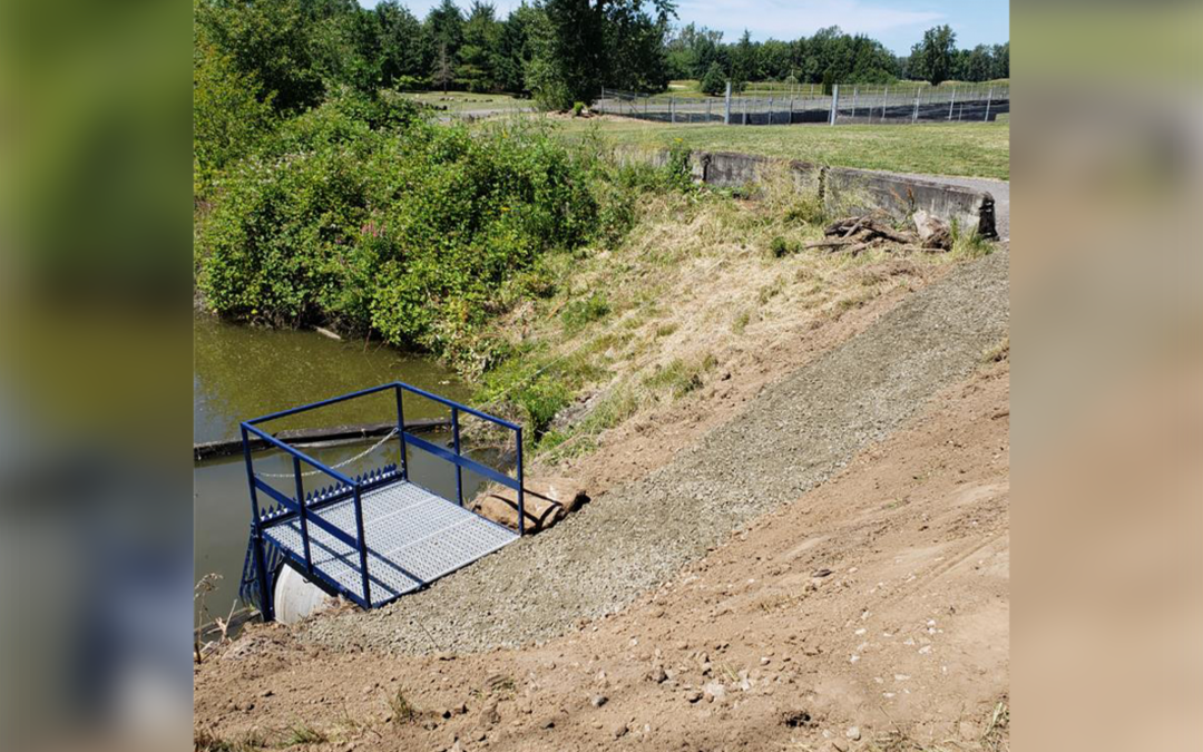 MCDD ditch safety project completed